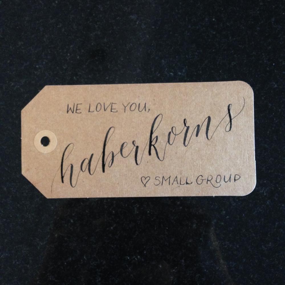 Haberkorns | Natalie Grace Calligraphy Co.
