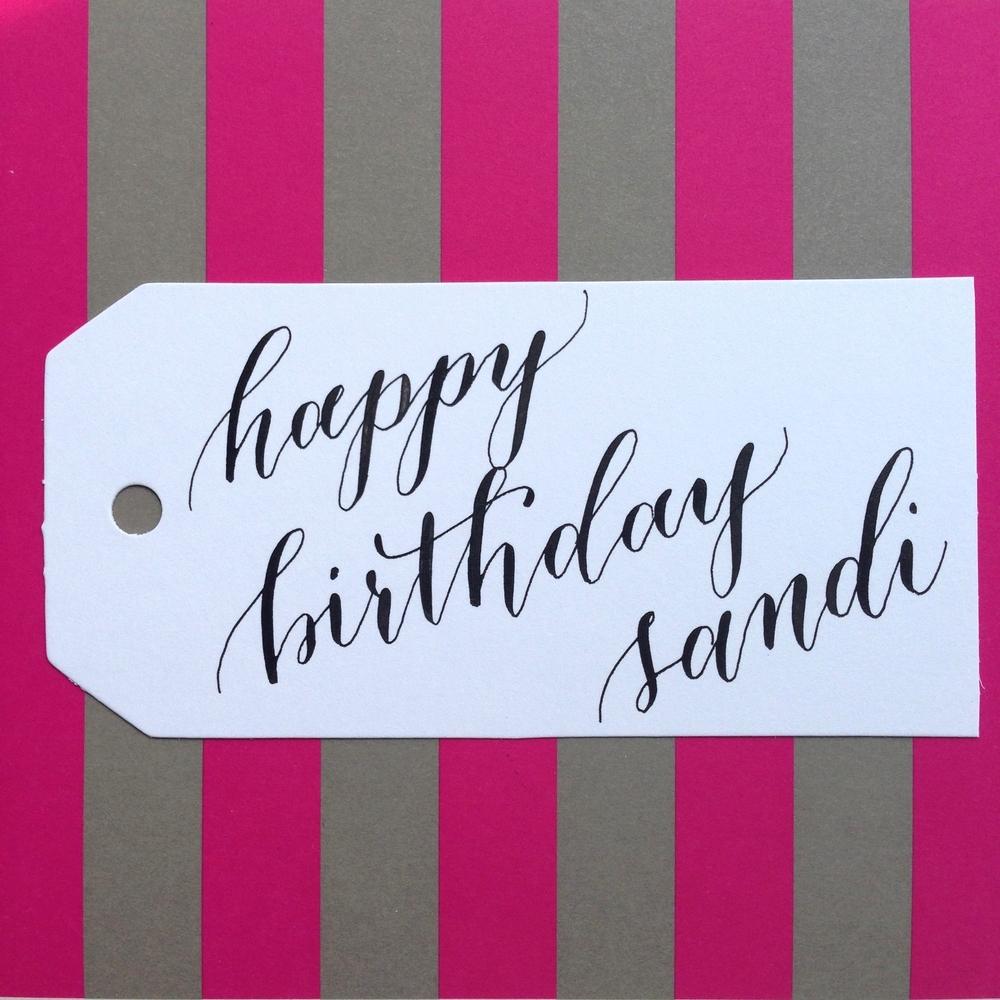 Sandi Natalie Grace Calligraphy Co.