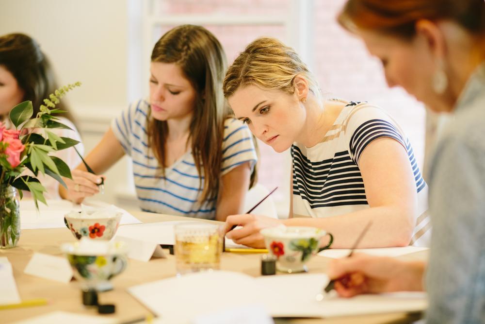 Focus | Natalie Grace Calligraphy Co.