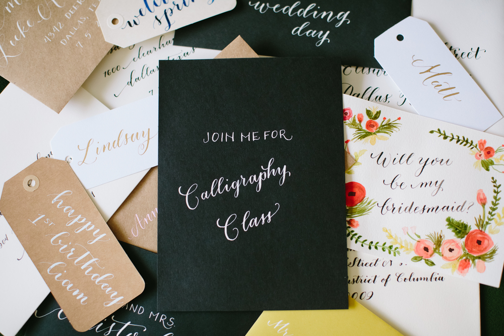 Samples | Natalie Grace Calligraphy Co.