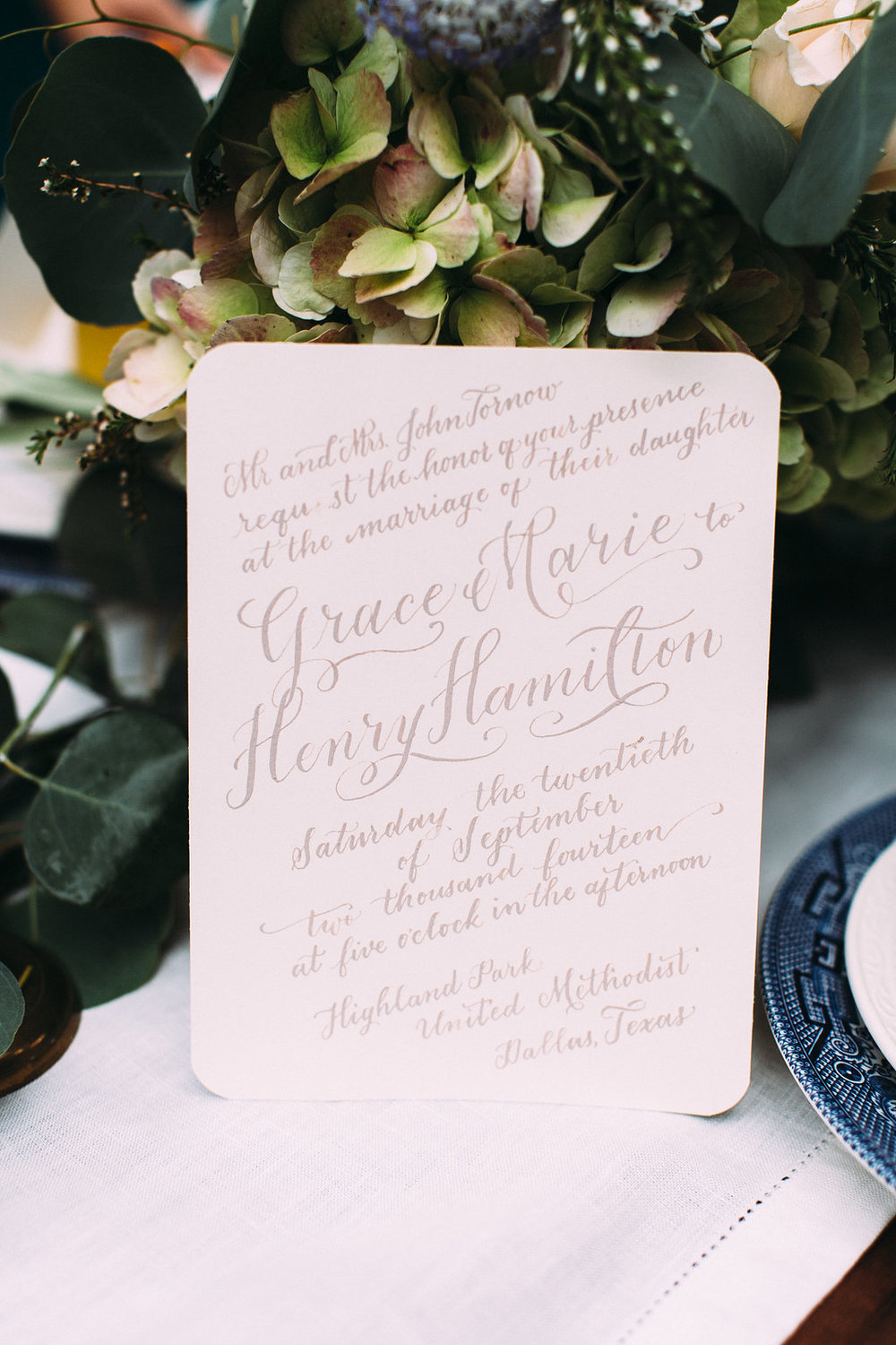 Stems of Dallas | Grant Daniels Photography | Natalie Grace Calligraphy Co.