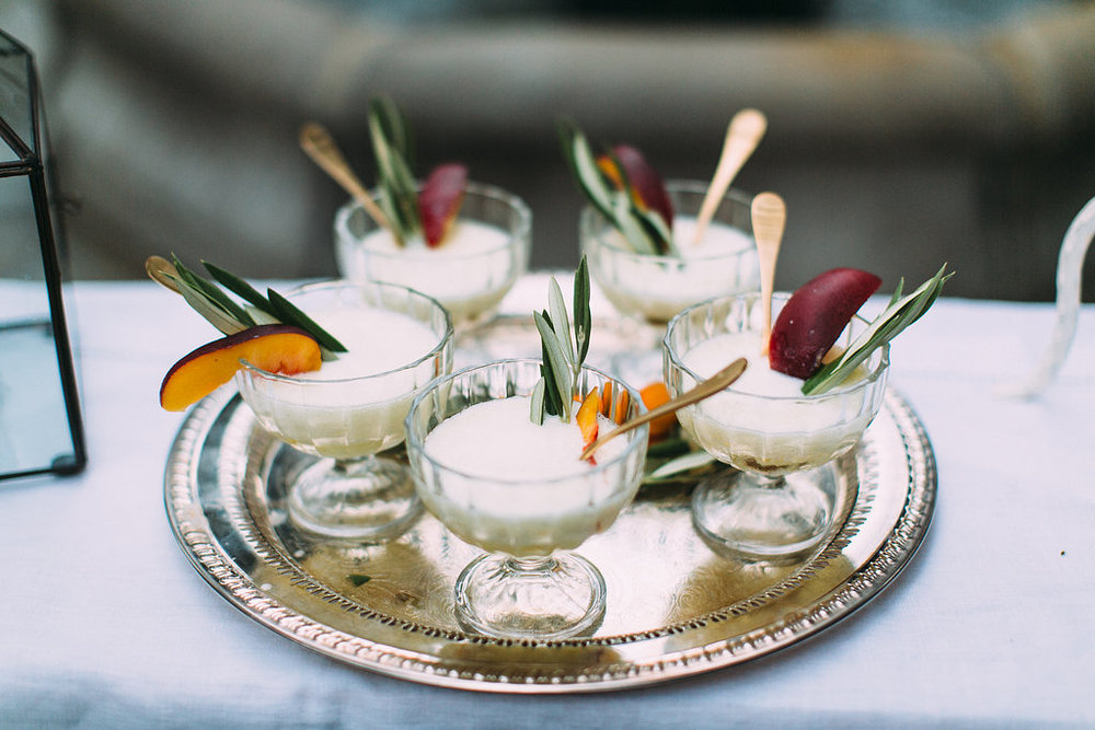 Dessert | Stems of Dallas | Grant Daniels Photography | Natalie Grace Calligraphy Co.
