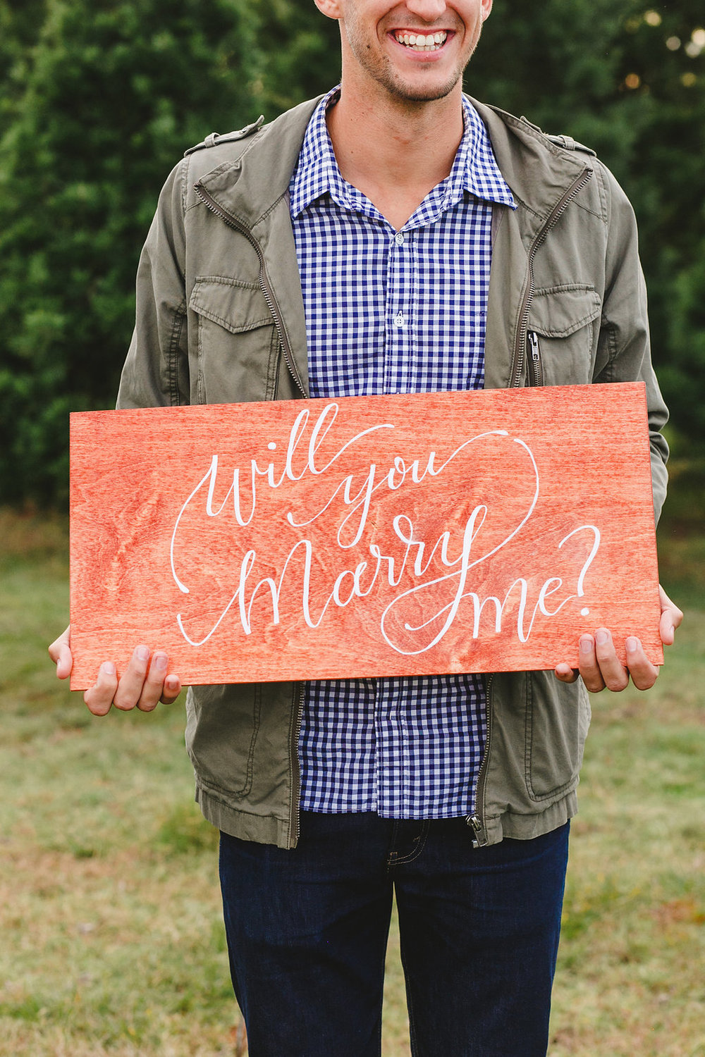Will you marry me? | Lindsey Shea Photography | Natalie Grace Calligraphy Co.