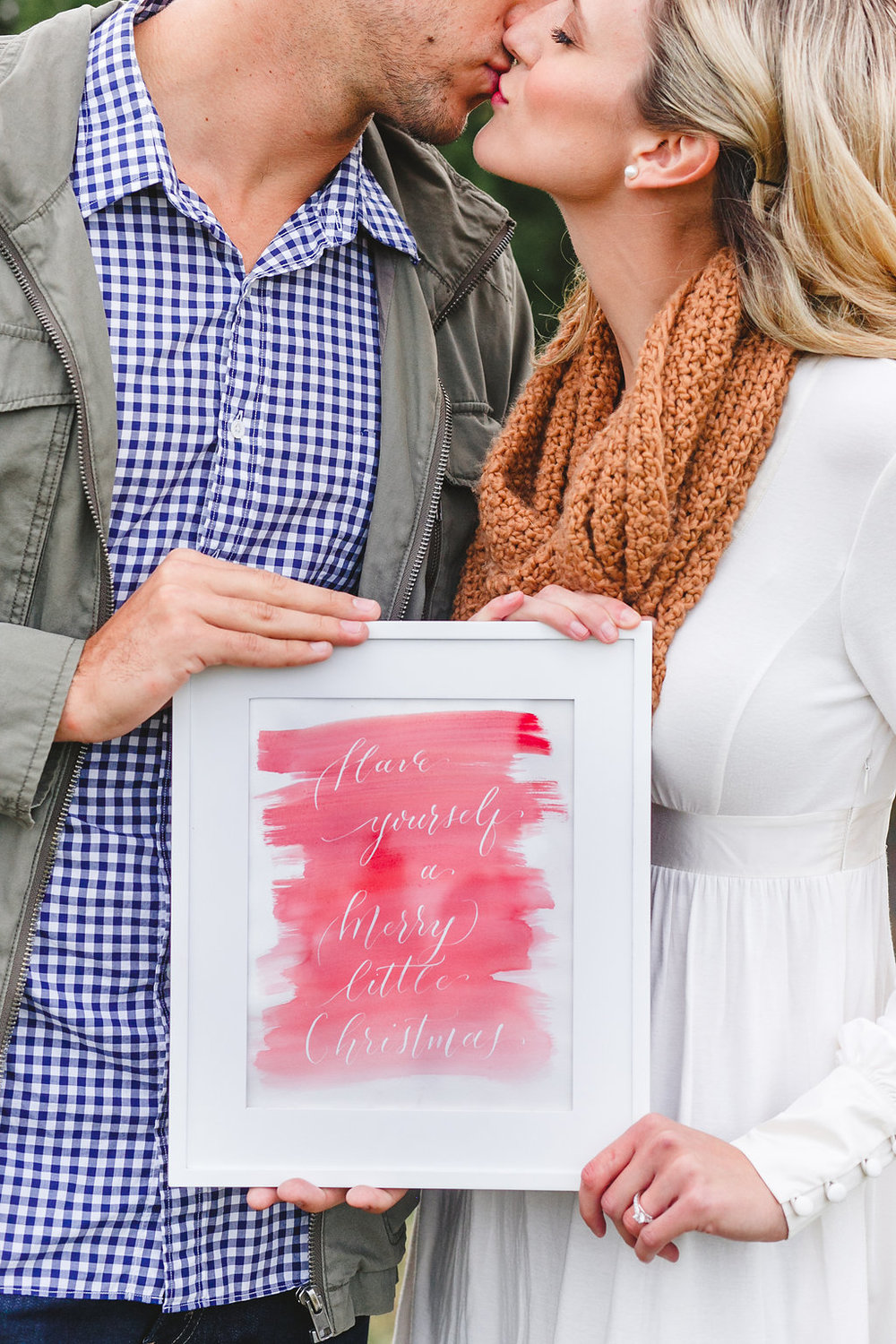 Holiday Engagement | Lindsey Shea Photography | Cheers to the Charles | Jess Barfield Photography | Natalie Grace Calligraphy Co.