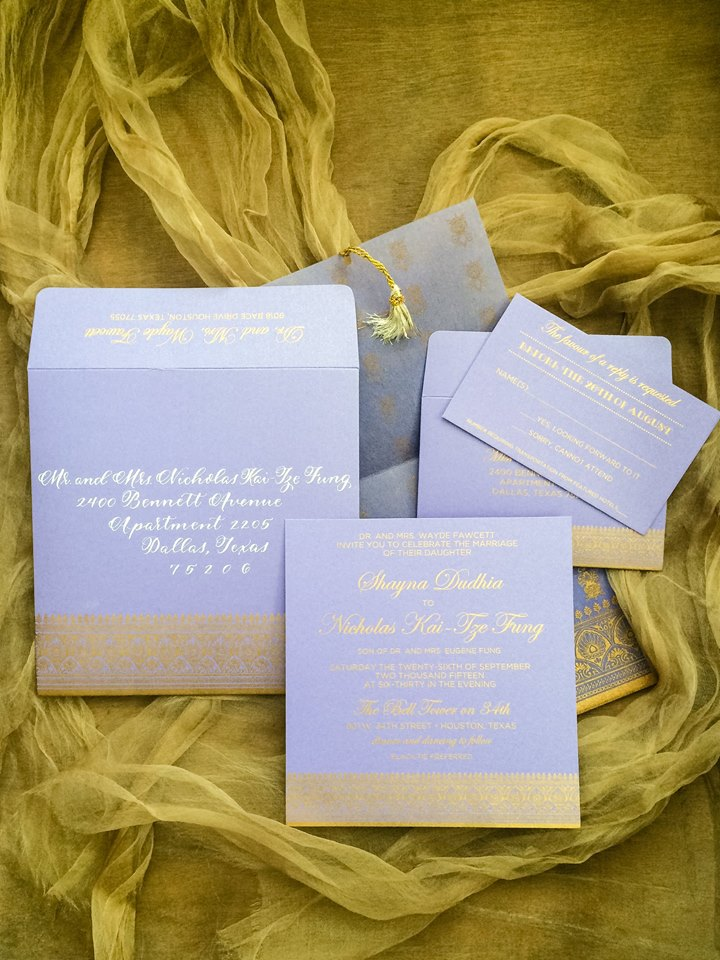 Shayna + Nick Wedding | Invitation