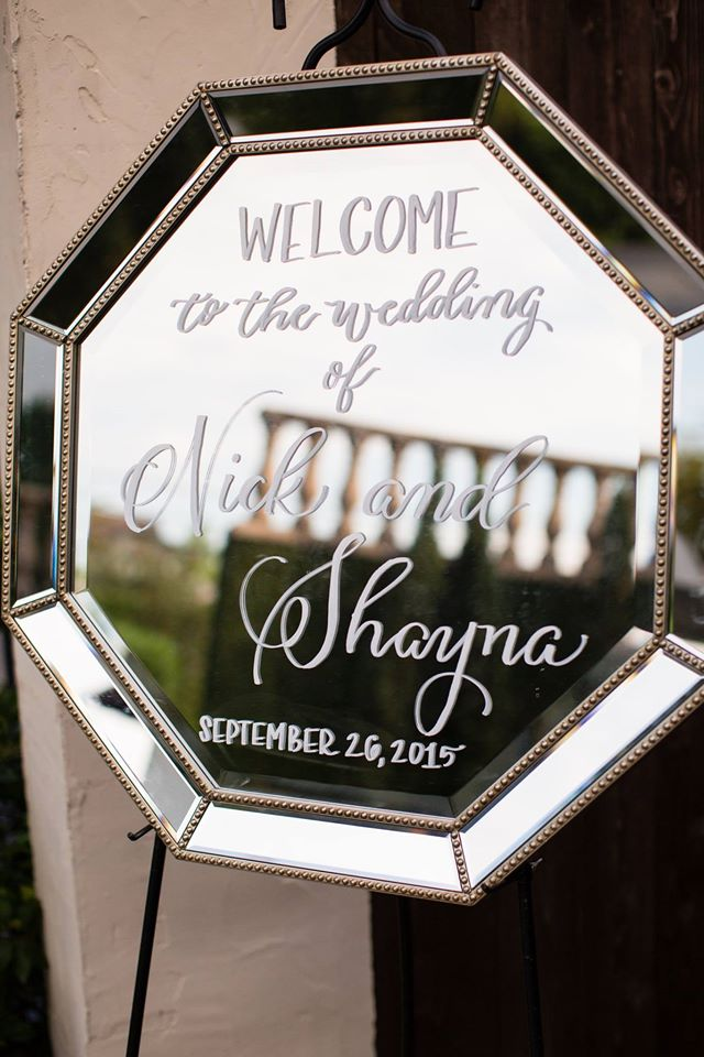 Shayna + Nick Wedding | Mirror