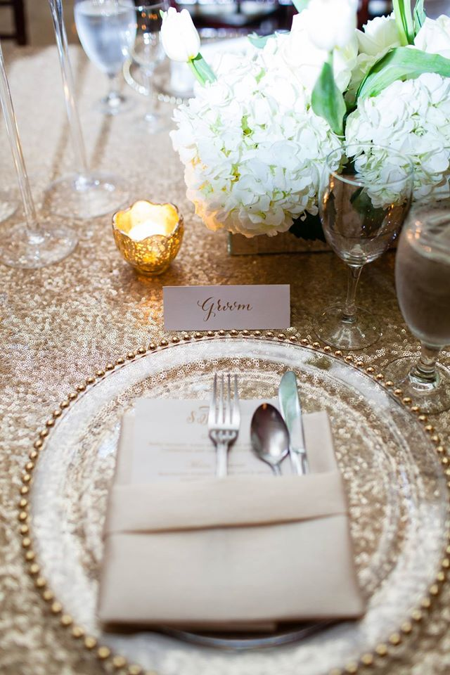 Shayna + Nick Wedding | Placesetting
