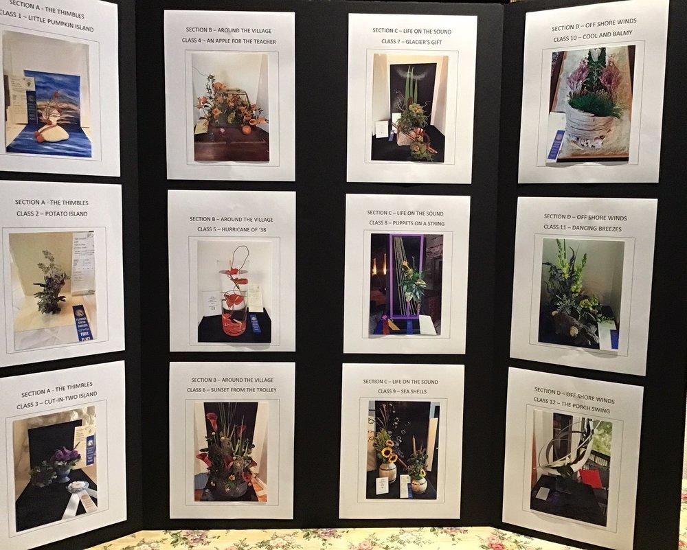 Flower Show Design Winners