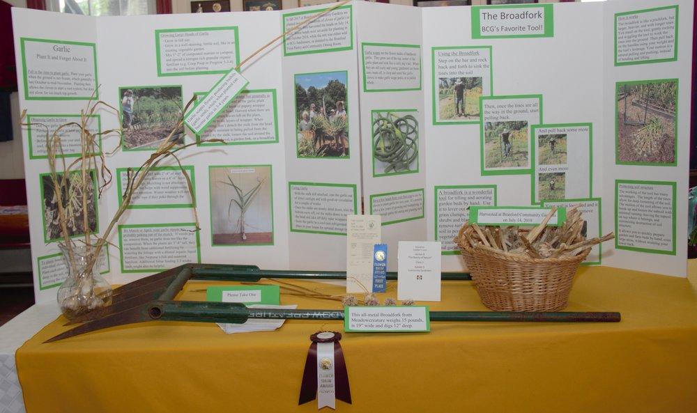 Educational Display: Broadfork