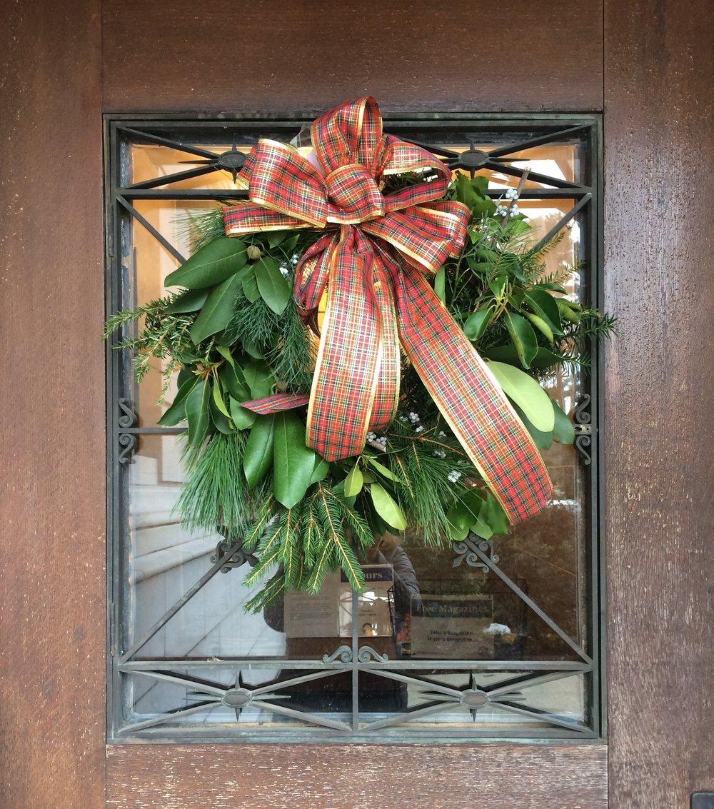 Wreath Making Workshop, Backdoor in Library