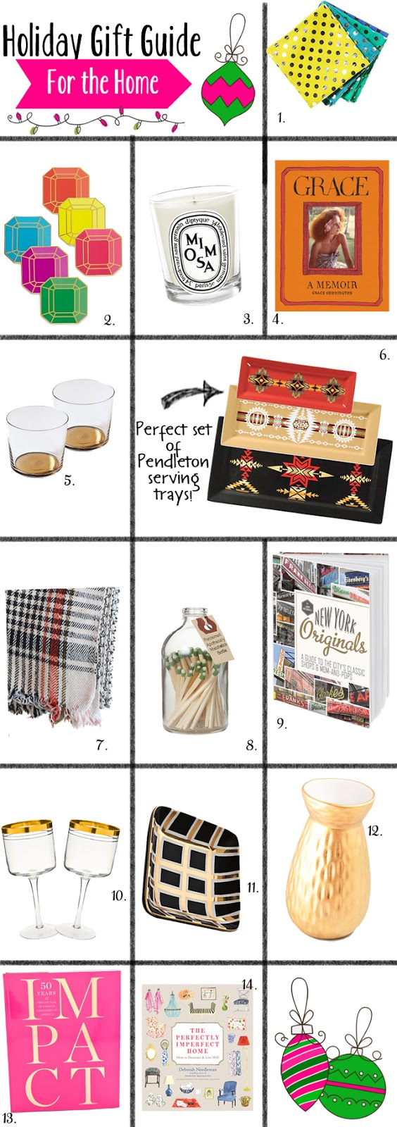 Holiday Gift Guide for the Home, Holiday Gift Guide 2012