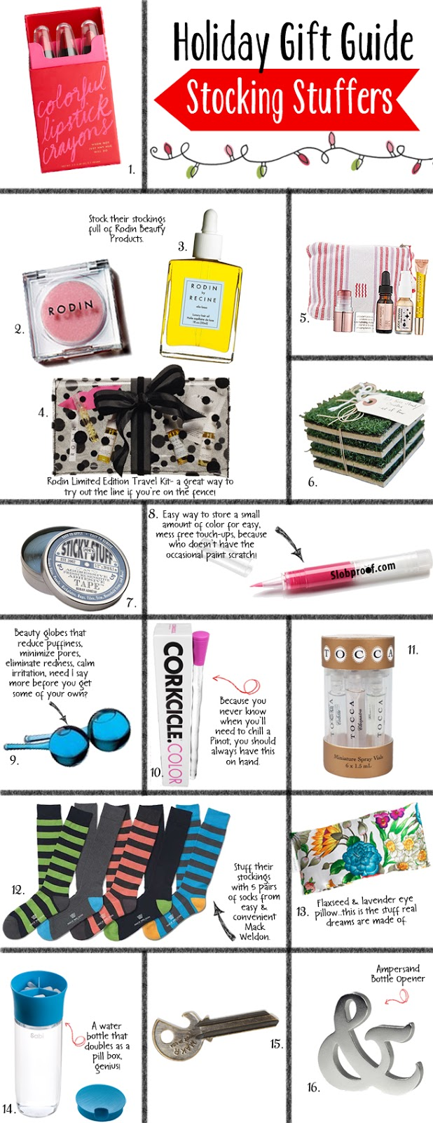 Holiday Gift Guide Stocking Stuffers 2012