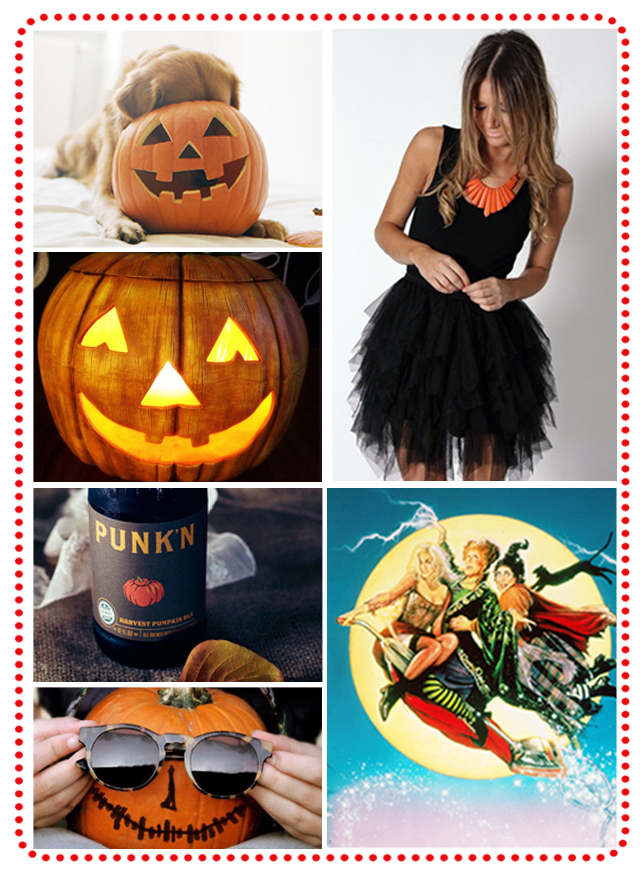 Halloween, Inspiration Board, Orange, Black, Fall
