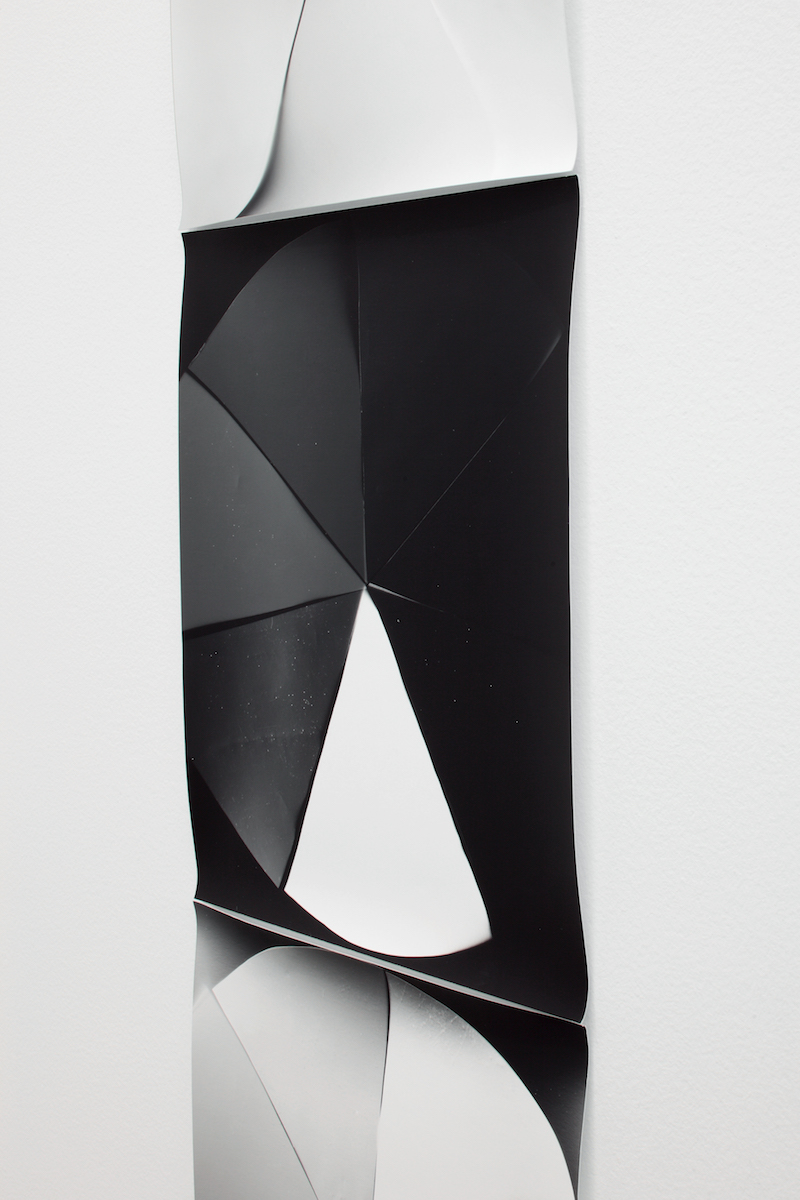 Galerie Praz-Delavallade, Paris Jan 28 - Feb 4, 2017   Black White Rainbow, Color Study  Photogram, 2015