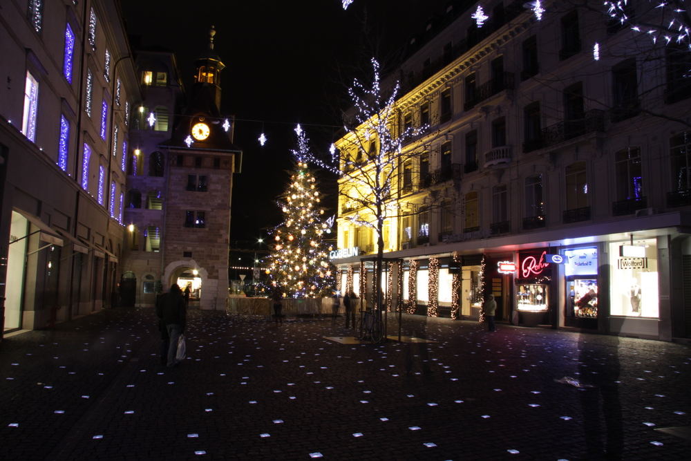 Winter atmosphere in Geneva (© Geneva Tourism)