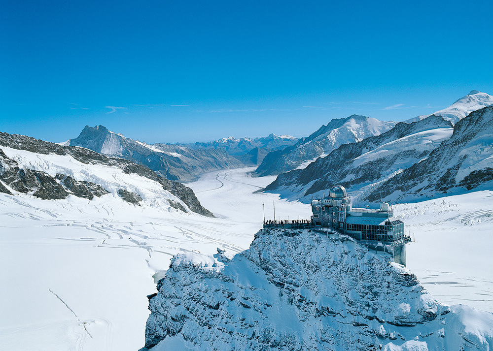 Jungfraujoch - Top of Europe (© Jungfraubahnen Management)