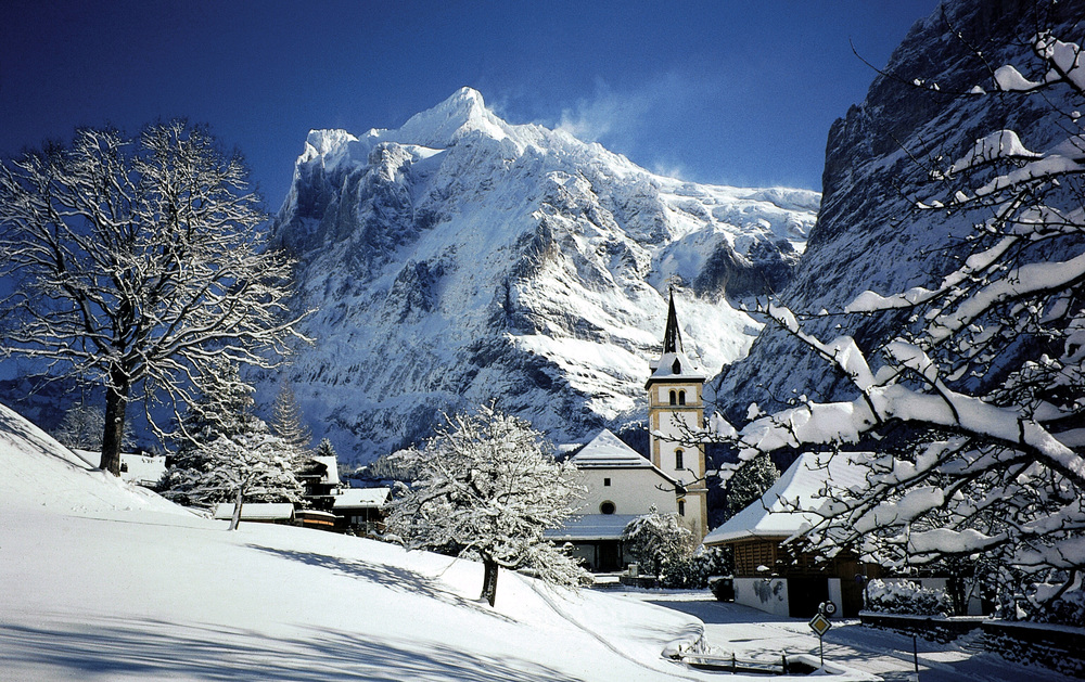 The village of Grindelwald (© Jungfrau Region)