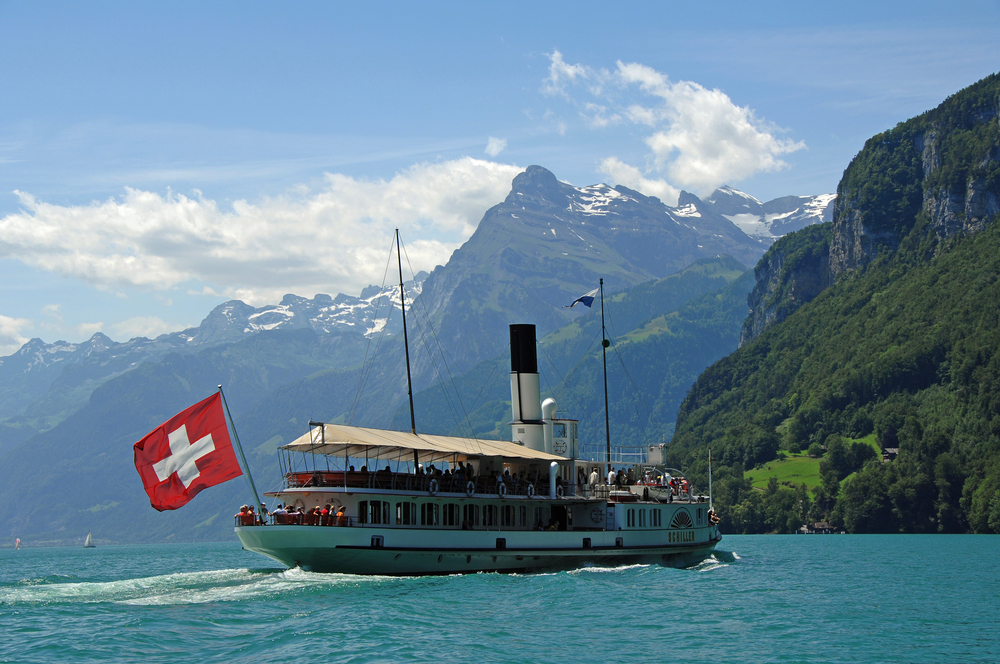 Paddle steamer on Lake Lucerne (© Luzern Tourismus)