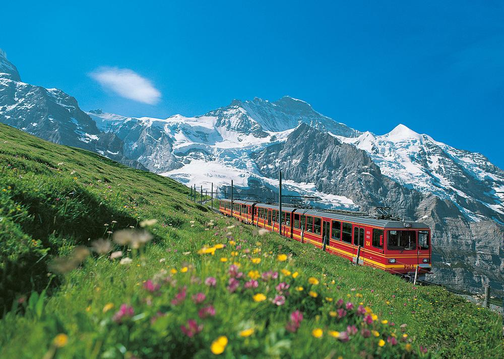Railway to the Jungfraujoch (© Jungfraubahnen Management)