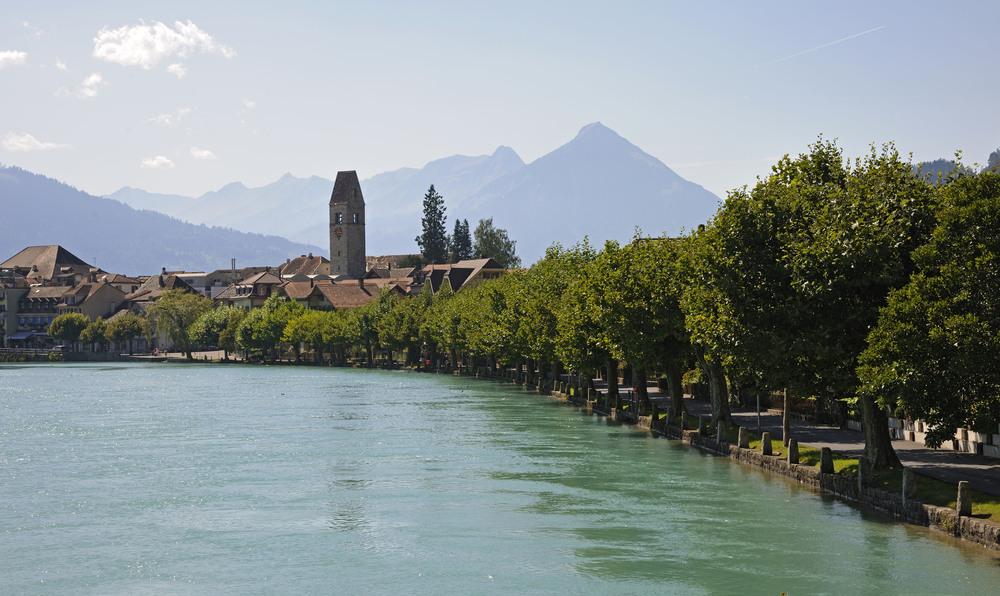 Lakeshore of Interlaken (© Interlaken Tourismus / Jost von Allmen)