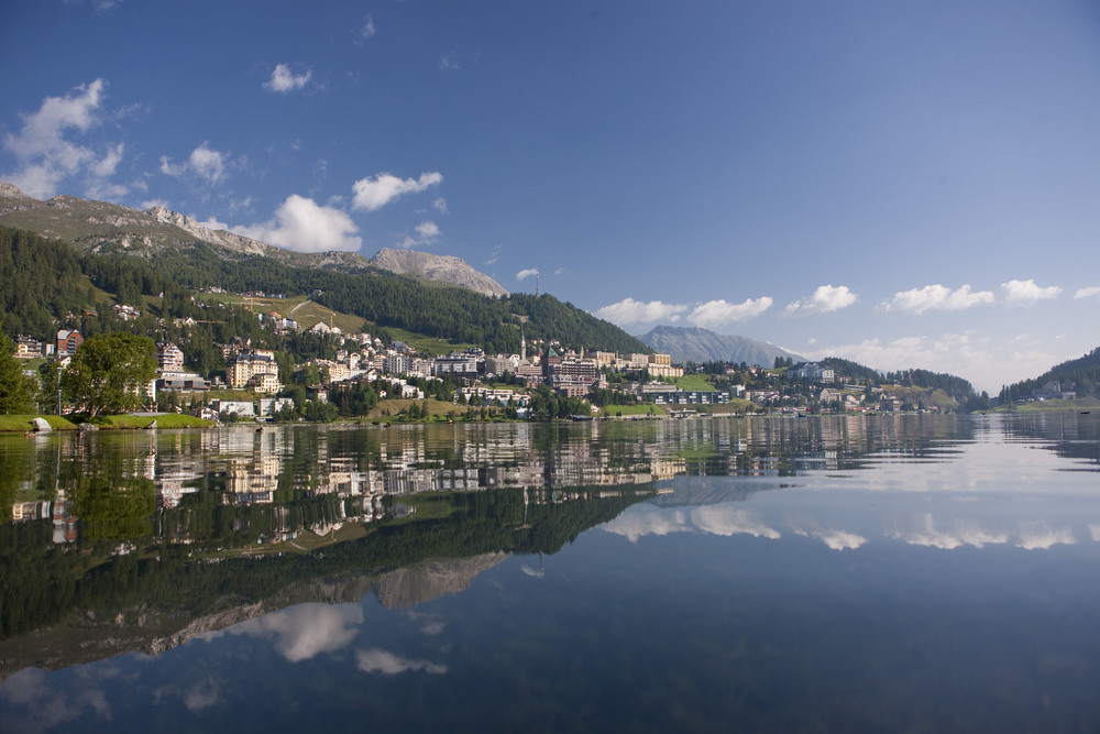 Famous and prestigeous St. Moritz (© swiss-image.ch / Christof Sonderegger)