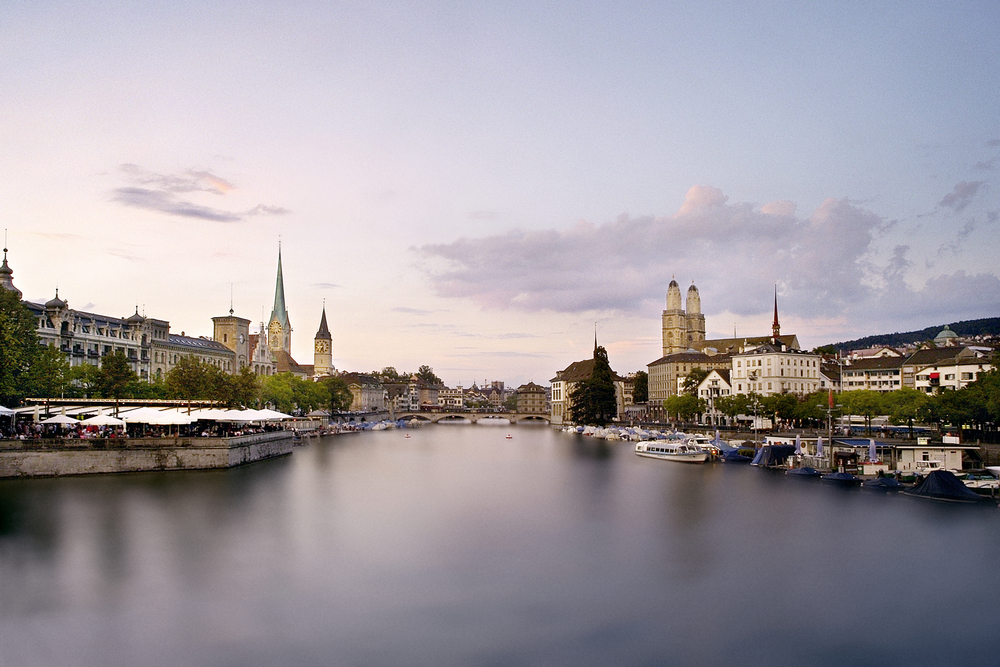 Evening ambience in Zurich (© Zürich Tourismus)
