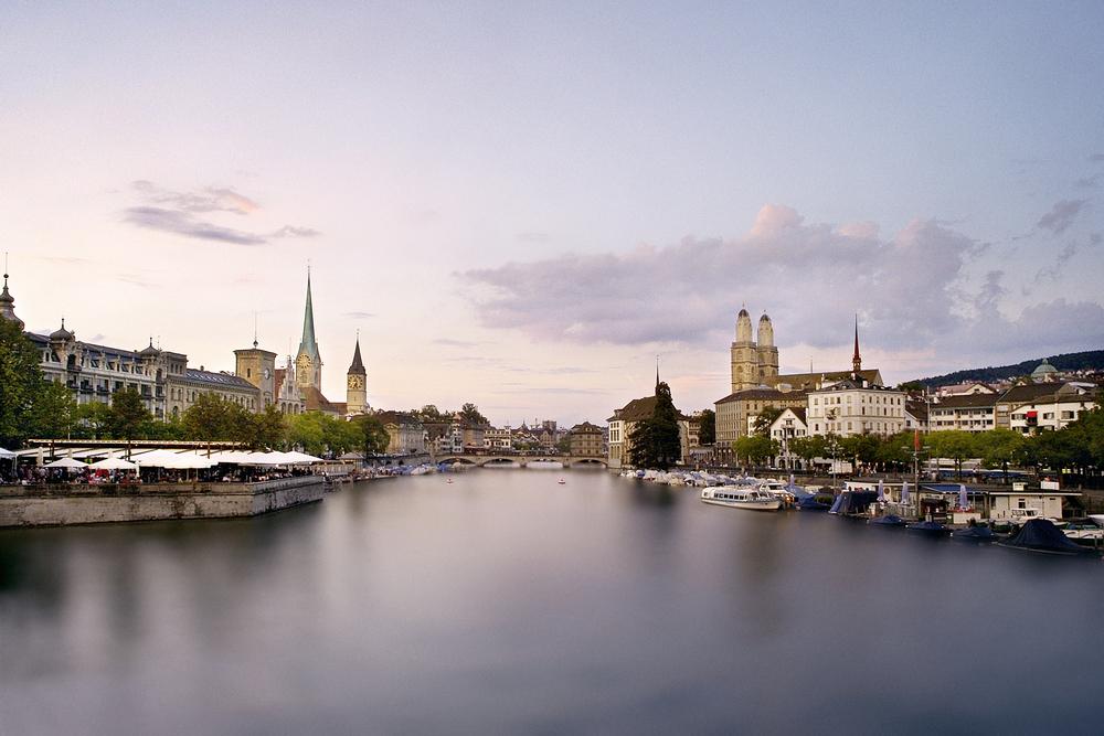 Evening ambince in Zurich (© Zürich Tourismus)