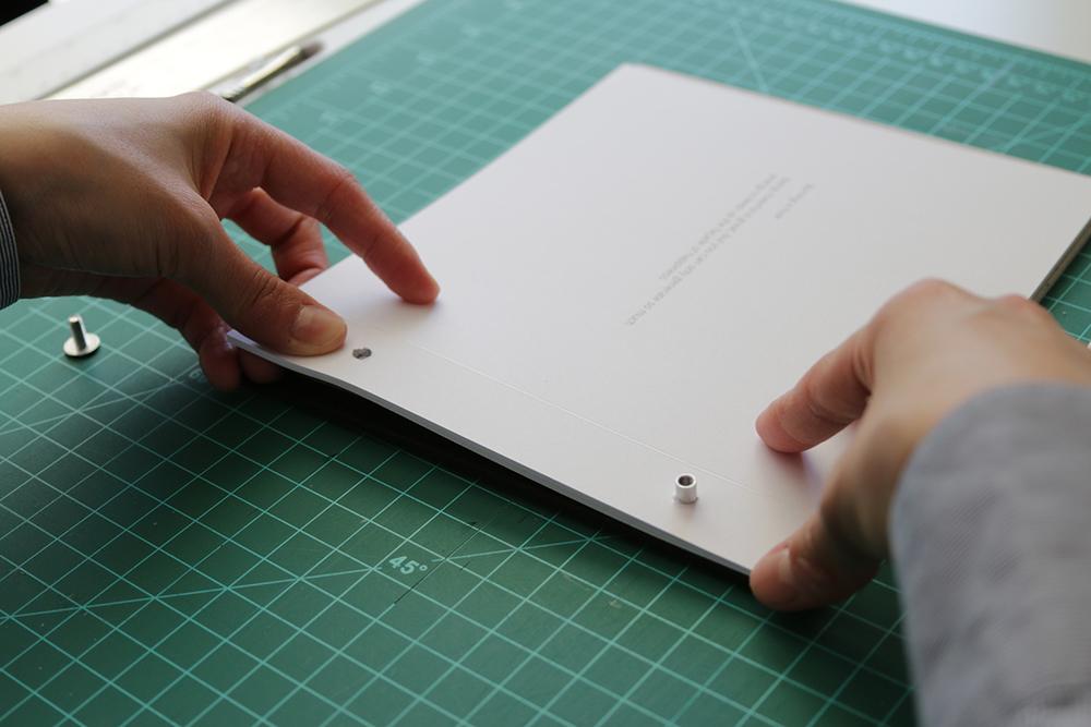diy hard cover book binding
