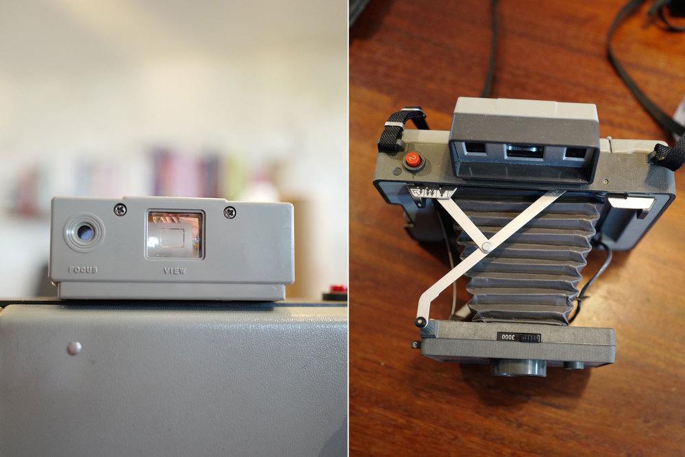 Polaroid 320 camera