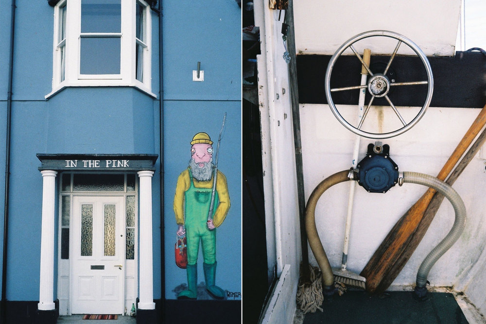 Cornish fisherman steerage