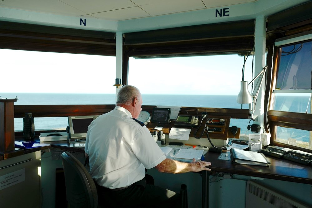Steve at the National coastwatch