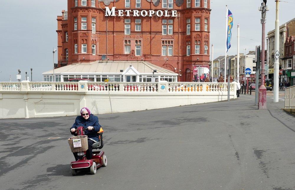 Blackpool granny