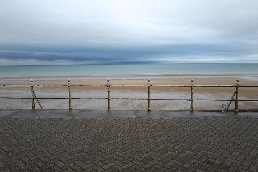 Blackpool prom view