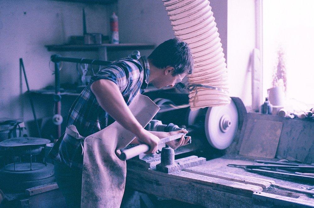 Gary -a serpentine turner, Cornwall.jpg