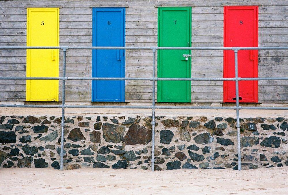 Porthminster beach huts