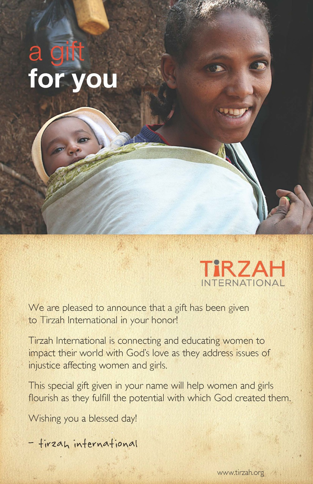 A Gift to Tirzah International in Your Honor.jpg