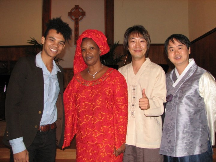 Silverlake Community Church hosted Peace Nihorimbere at a service celebrating Christianity around the Globe.