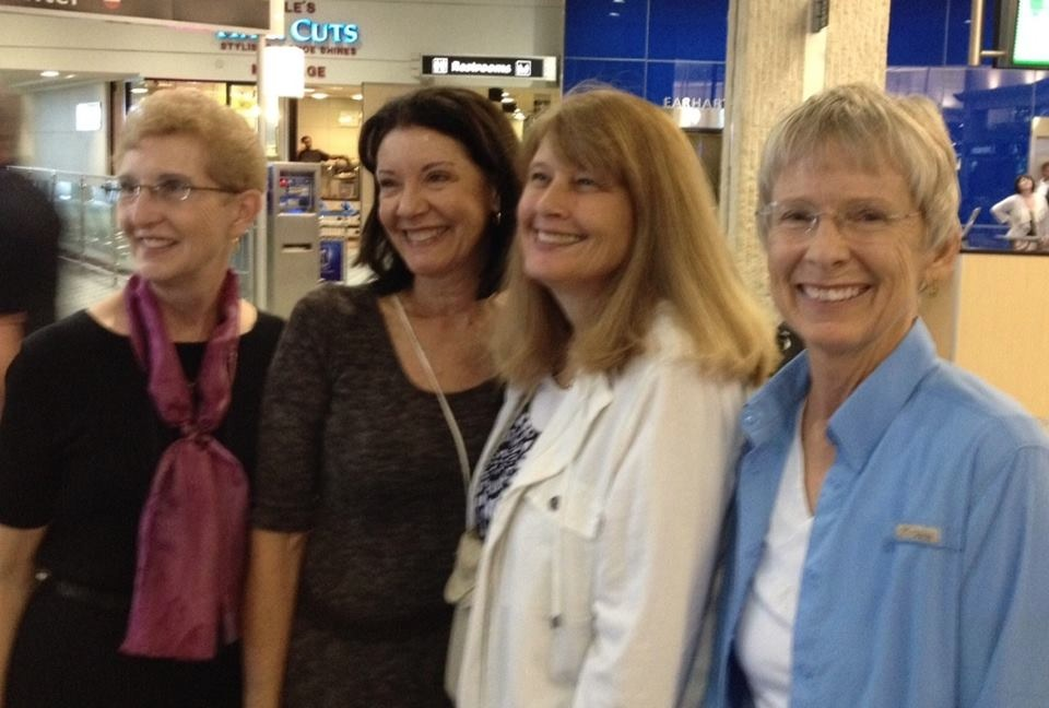 Members of Tirzah Tampa Chapter - ready to head off for Burundi!