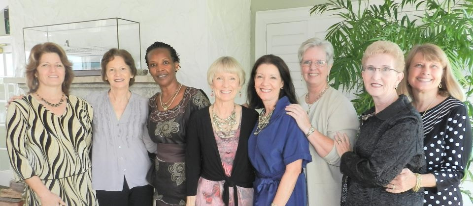 Tirzah Tampa Chapter hosts Peace Nihorimbere, Tirzah's Leader for Francophone Central Africa.