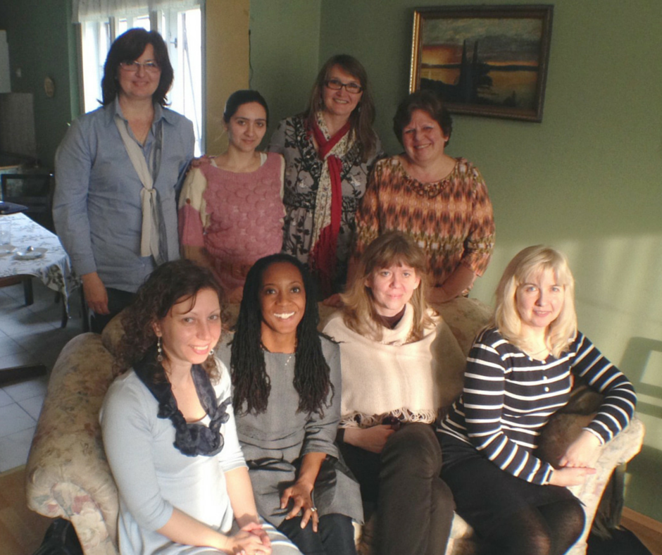 At a recent gathering in the home of Tirzah's Eastern European Leader, Ksenija Sabo (back row, far right), our North American Leader, Casandra Morgan-Loyer (front row, second from the left) and Serbian women leaders met together.