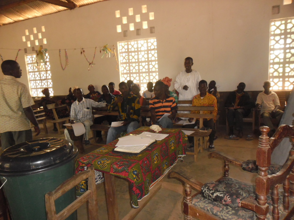 The team in West Africa is also meeting with religious leaders all over the area, to equip them to share effective Ebola prevention.