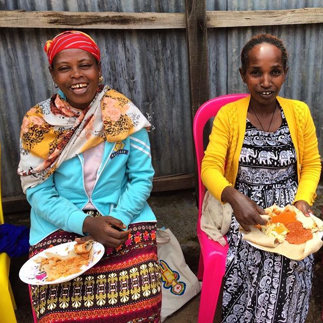 There's nothing like a meal with friends! When you support the Women's Empowerment Program in Ethiopia, you help provide healthy meals for the women as they take business classes.
