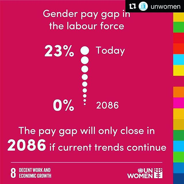 #Repost @unwomen ・・・ It's high time for #equalpay for equal value. Let's move from #PromisesToAction and close the gender pay gap! #GlobalGoals #equalpayday