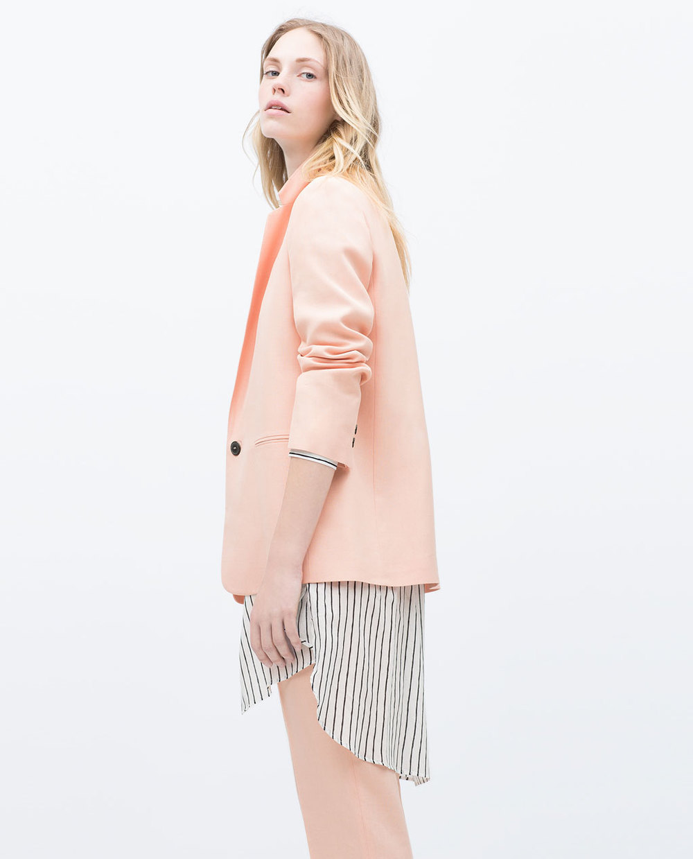 STRAIGHT CUT BLAZER 79.99 USD