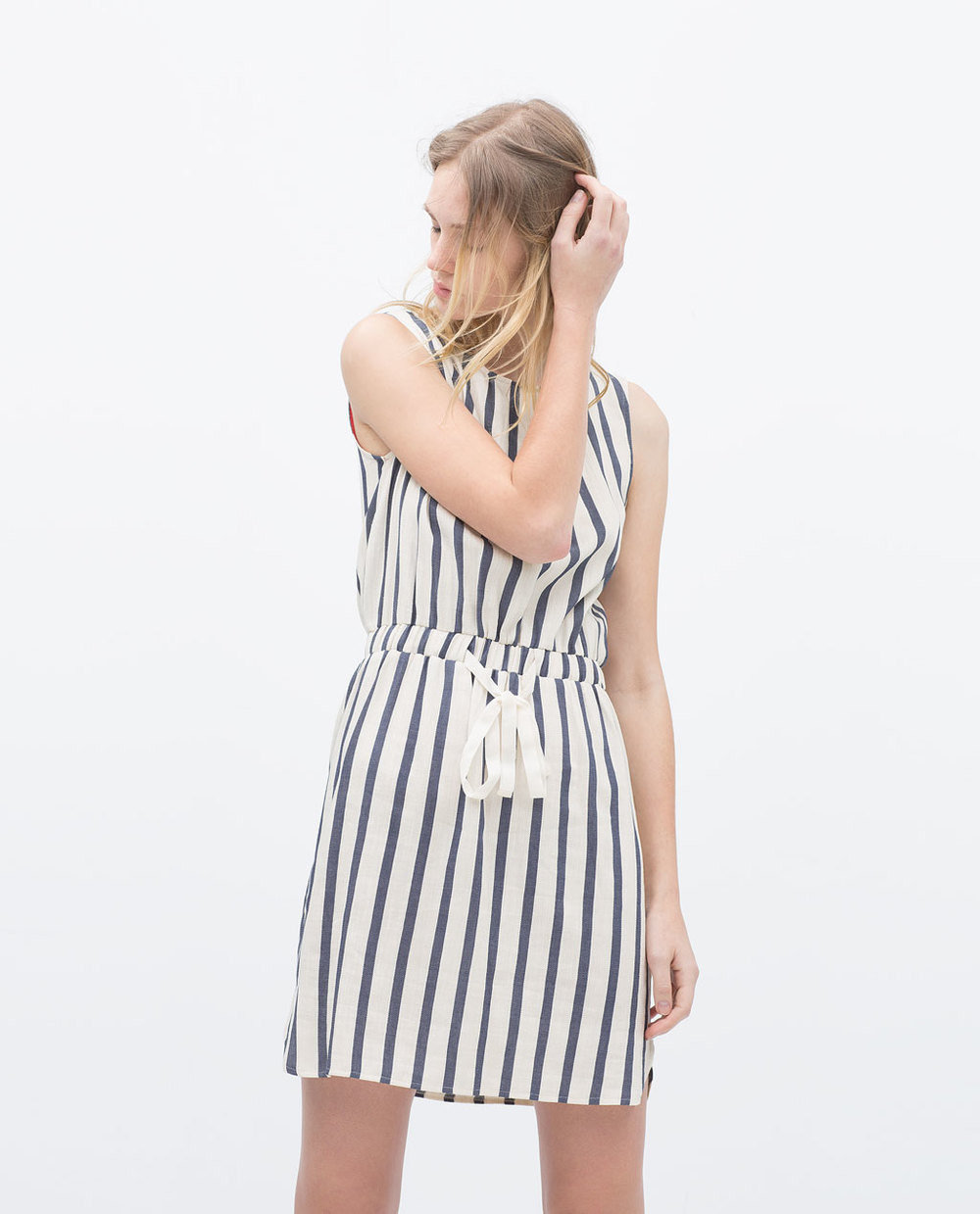 VERTICAL STRIPE DRESS 39.99 USD
