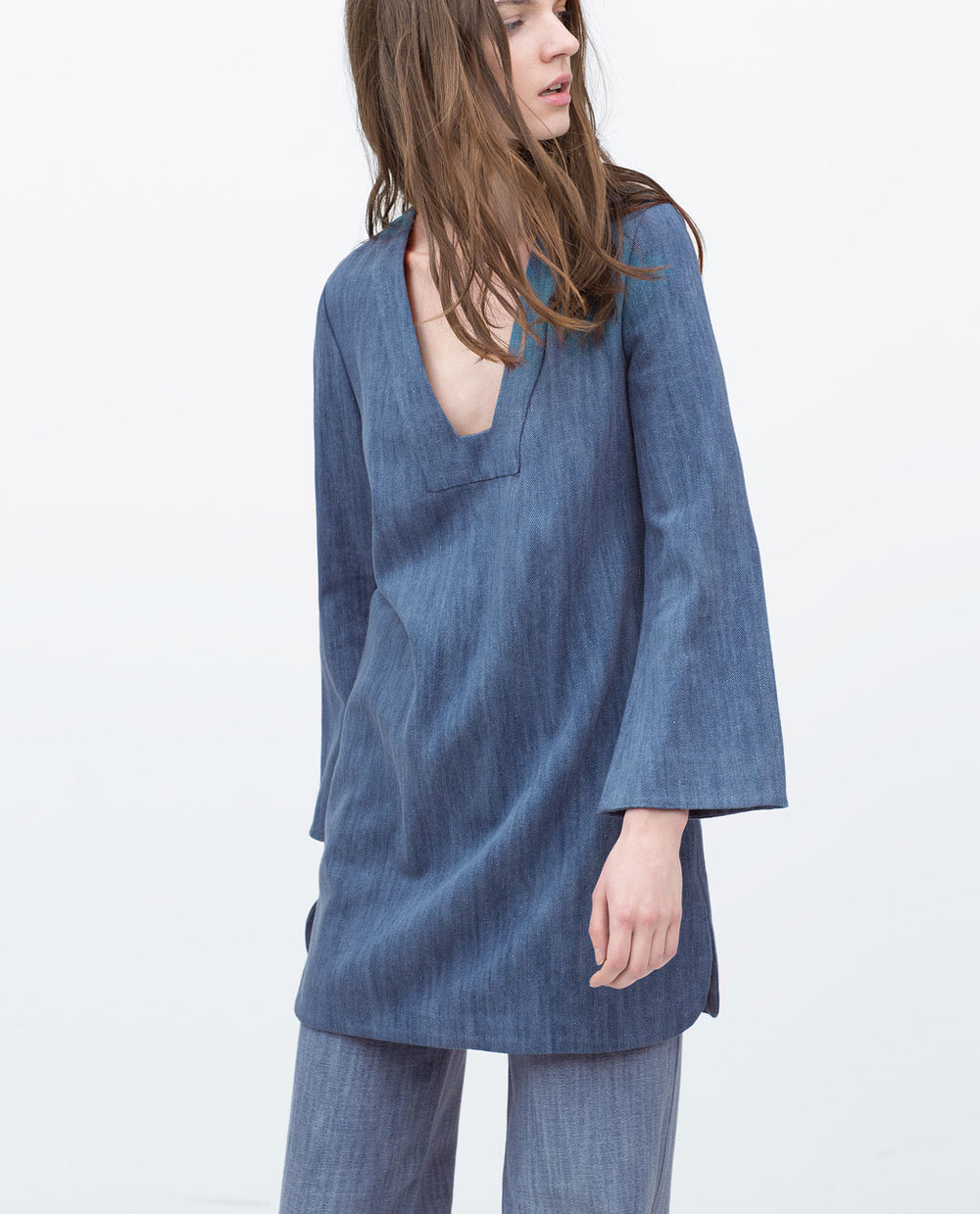 BELL SLEEVE TUNIC 49.99 USD