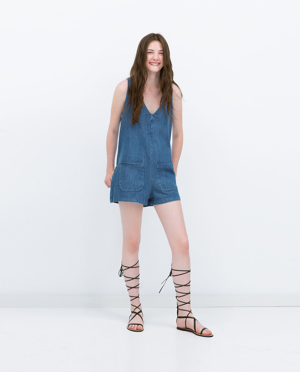 DENIM JUMPSUIT 39.99 USD