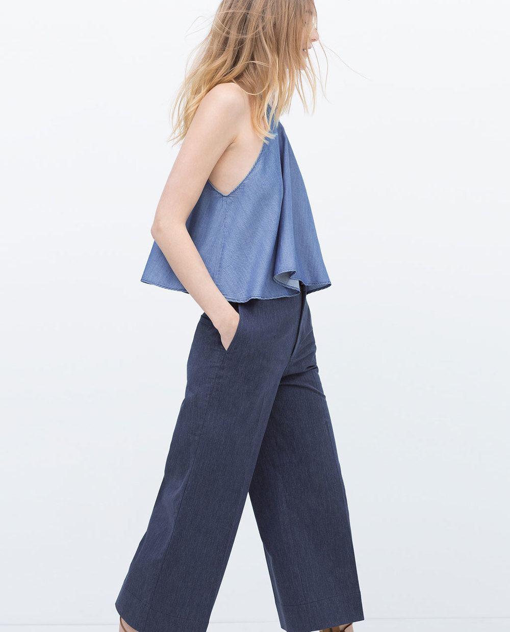 DENIM TOP 39.99 USD