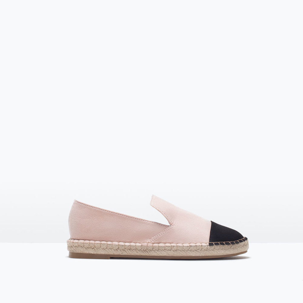 POINTED ESPADRILLES 25.99 USD