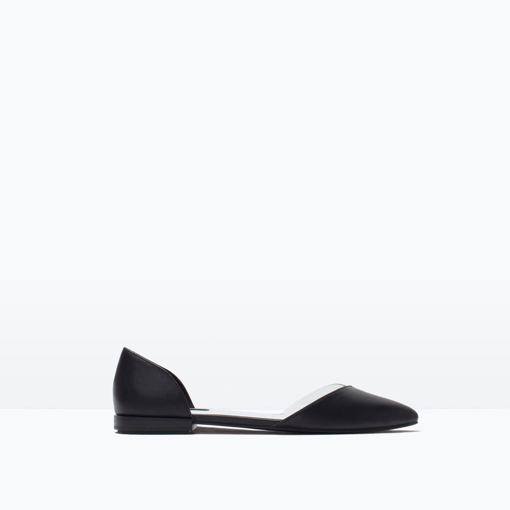 VINYL D'ORSAY SHOES 25.99 USD